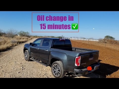 How To Change The Oil Reset The Oil Light On A 2017 2019 Gmc