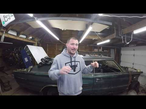 1966 Dodge Charger Resto Mod Build!! Ep 1