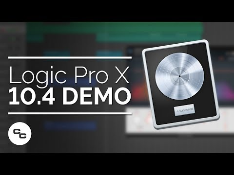 Logic Pro X 10.4 Demo - New Instruments and Features