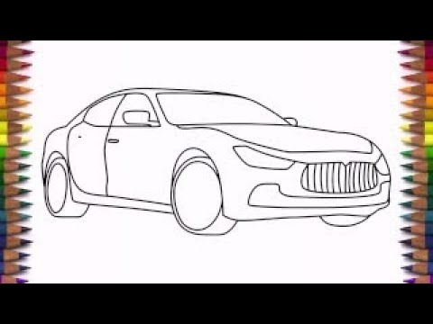 how to draw a car step by step for beginners