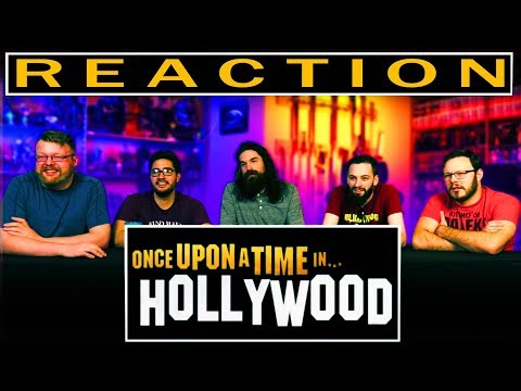 ONCE UPON A TIME IN HOLLYWOOD - Official Trailer REACTION!!