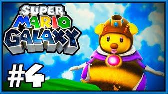 Super Mario Galaxy Wii Läpipeluu Osa 4 Ampiainen, Mehiläinen vai Kimalainen?