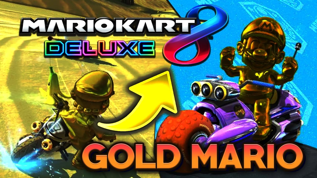 So Bekommt Man Gold Mario In Mario Kart 8 Deluxe Youtube