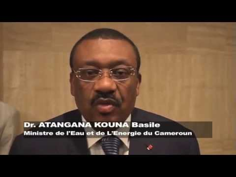 Dr.Basile ATANGANA KOUNA, Cameroon Minister of Water and Energy