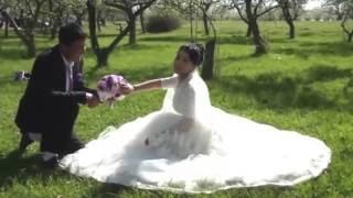 Трогательная свадьба  Адыла и Мадины ,Кара-Балта 2016
