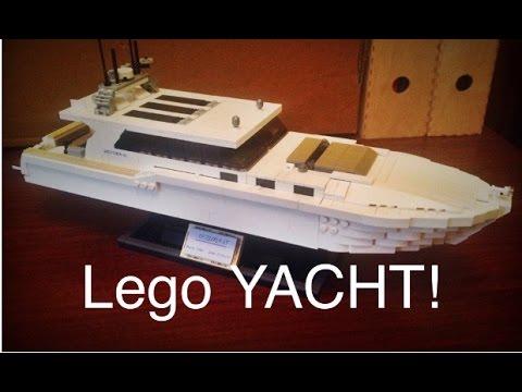 Lego Yacht Moc Youtube
