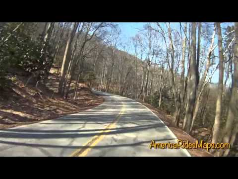 Winter ride on Waterville Road