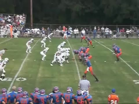 Montevallo Bulldogs vs. Calera Eagles - YouTube