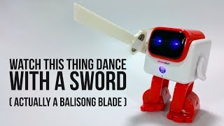 World's First Dancing Bluetooth Speaker? They Call It Dancebot & I Gave It A Sword