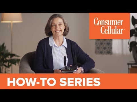 ZTE Wireless Home Phone Base: Getting Started (1 of 2) | Consumer Cellular