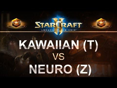 StarCraft 2 - LOTV 2017 - Kawaiian (T) v Neuro (Z) on Odyssey