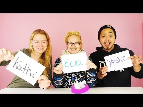Wer würde eher CHALLENGE mit Eva, Kathi, Yoshi | Mega lustige STIMMUNG bei DIY Inspiration