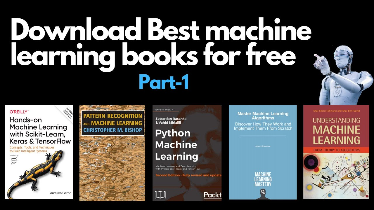Top Machine Learning Books Free Download Youtube