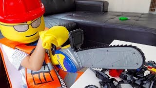 Build Block Toy Activity Police Play,Batman Toys Pretend Play