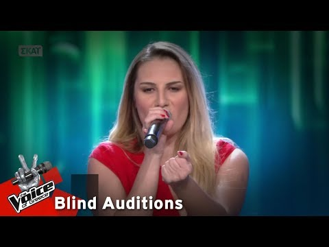 Πωλίνα Χατζηιωάννου - It's a man's world | 7o Blind Audition | The Voice of Greece