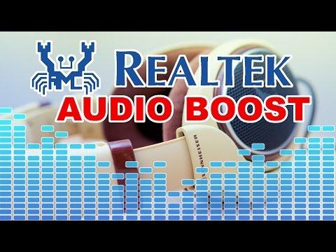 Besser Sound! Realtek HD Audio Boost | Equalizer Einstellungen