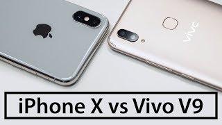 Распаковка Vivo V9 - iPhone X от китайцев. Не Vivo Apex, зато продается в России (+ тест камеры)