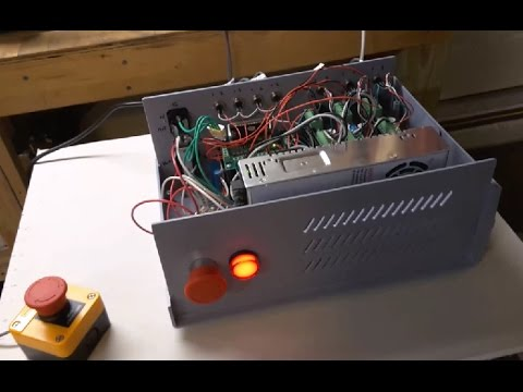 How To Build a CNC Controller For a Mini Lathe or Mini Mill w/ DM542A Drivers