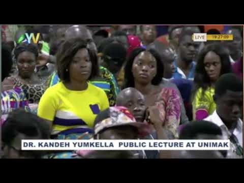 KKY Full Lecture on NGC Plans for Sierra Leone