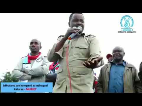 Mbunge Godbless Lema, ampa salamu Mkuu wa Mkoa wa Arusha kuhusu uchaguzi