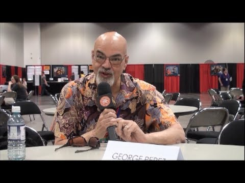 Master Comic Book Artist George Perez Interview