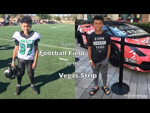 From The Vegas National Youth Football Tournament To The Vegas Strip