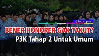 Tes P3k Tahap 2 Untuk Pelamar Umum Honorer Siap Adu Nasib