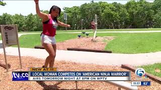 WPTV NEWS Christina Gambino | American Ninja Warrior