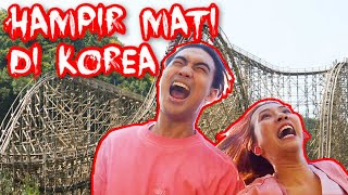 Nyobain Roller Coaster ter-EXTREME di Korea! | Natya & Rendy | Sponsored by Trazy