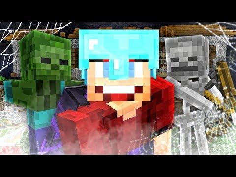 GEVAARLIJKE MONSTERS IN DE VILLA! - Minecraft Survival #270