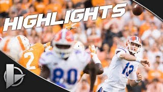 2018: Florida Gators @ Tennessee Volunteers - Highlights