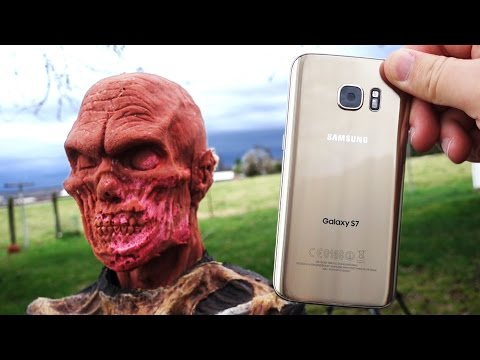 Can Galaxy S7 Kill Zombie w/ 400 Yard Balloon Launcher? - GizmoSlip