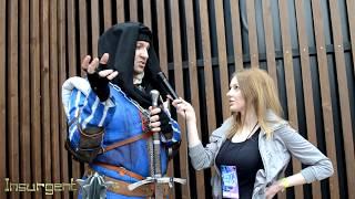 Интервью с Командиром синих полосок Верноном Роше на Epic Con