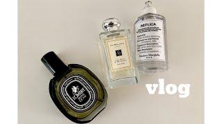 vlog ㅣ 집순이 브이로그 ㅣ메종 마르지엘라 향수 언…