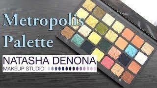 Natasha Denona METROPOLIS Eyeshadow Palette: Real Swatches & Review