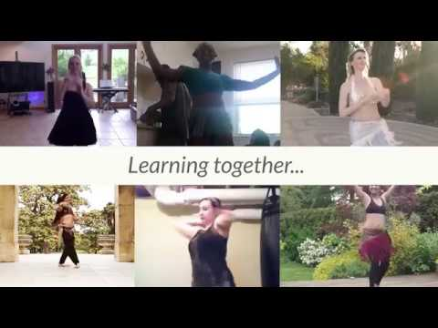 """DO Belly Dance Challenge #6 - """"The Game"""" Student Compilation"""