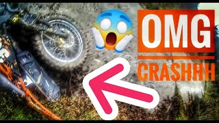 GOPRO HERO 3| CRASH AND ENDURO/MOTOCROSS IN RAINING TIME