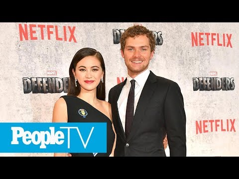 Finn Jones & Jessica Henwick Reveal Who Ended Up In The Hospital On Set Of 'Iron Fist' | PeopleTV