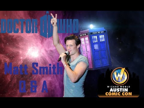 Matt Smith Doctor Who Panel at Wizard World Austin