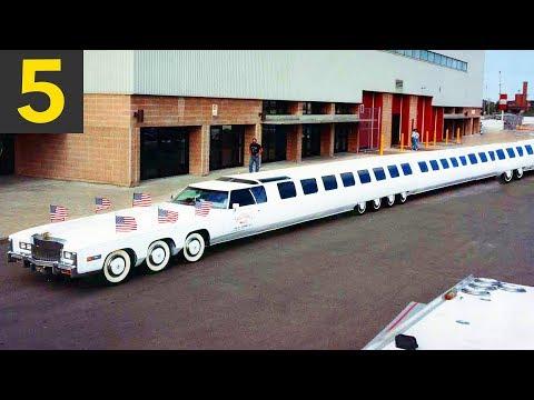 Top 5 Unbelievably LONG Limousines