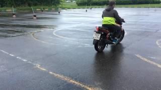 Учебная езда на мото