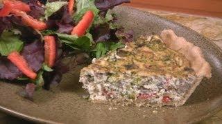 Veggie Tofu Quiche