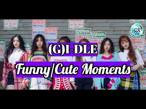 (G)I-DLE (여자)아이들 - Funny & Cute Moments (Part 1)