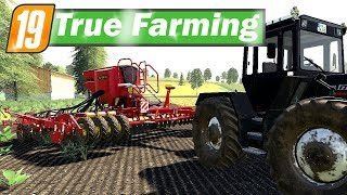 LS19 True Farming #136 - WARTUNG der VÄDERSTAD Rapid A600S | Farming Simulator 19
