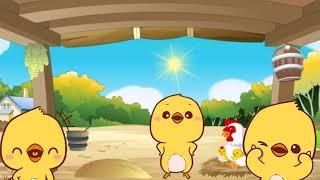 Песенка цыплят - песни для детей