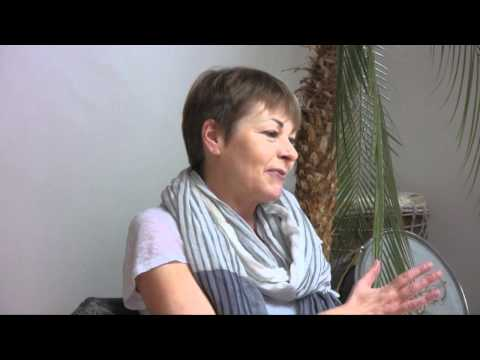 Green MP Caroline Lucas talks at the Brighton Buddhist Centre