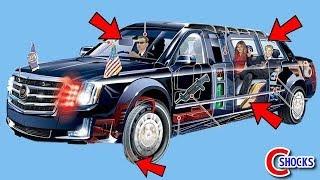 米国トランプ大統領専用車「ビースト」の秘密6選!!その装備レベルが桁違いに凄い