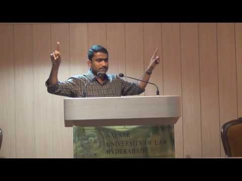 NALSAR Legal Aid Initiatives: A Way Forward | Mr. M.Sunil Kumar, Director, Landesa,