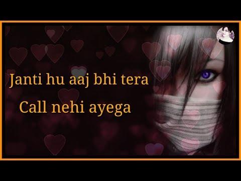 Janti Hu Tera Call Nhi Ayega 💔 | Sad Broken Heart Dialogue Status 💔