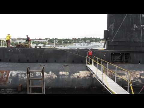 Final voyage Oberon submarine OKANAGAN